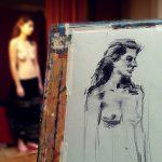 dessin peinture avec Yann Hovadik