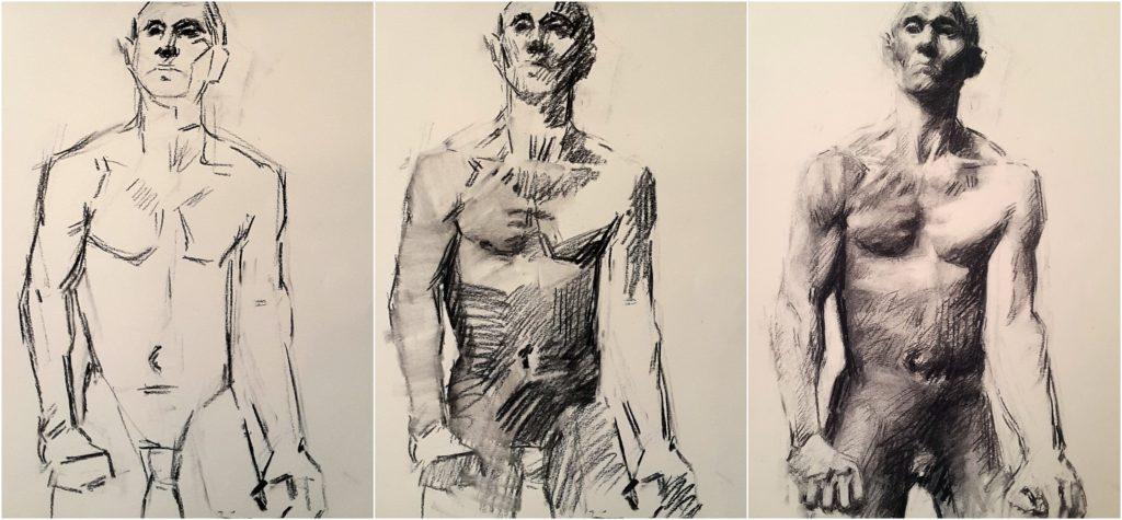 Carnet de voyage musée Rodin dessin