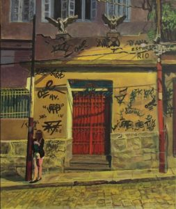 peinture de rue de nuit
