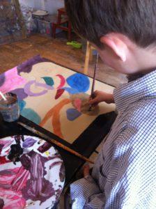 cours de dessin peinture pour enfants